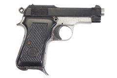 Old vintage handgun Stock Images