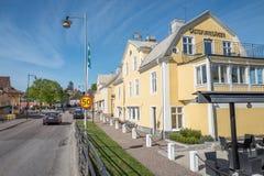 Old vintage hotel in Borensberg, Sweden Stock Photo