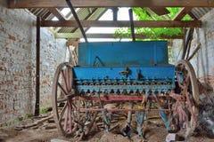 Old vintage industrial farmer-tool Stock Image