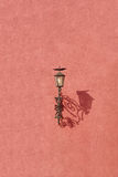 Old vintage iron lantern Royalty Free Stock Photography