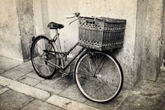 Old vintage Italian bicycle Royalty Free Stock Photography