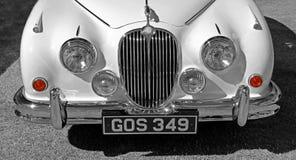 Old vintage jaguar lights Stock Photo