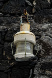 Old Vintage Kerosene Lantern Light Royalty Free Stock Photography
