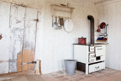 Old vintage kitchen at that time - Stock Photo Royalty Free Stock Image