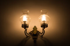Old vintage lamp Royalty Free Stock Photography