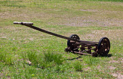 Old, vintage lawnmower Royalty Free Stock Images