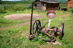 Old vintage lawnmower Stock Photography