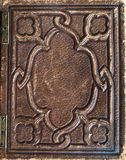 old vintage leather book cover Royalty Free Stock Image