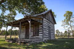 Old vintage log cabin Royalty Free Stock Image