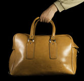 Old vintage luggage bag Stock Photo