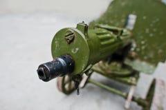 Old vintage machine gun, Maxim's system. Maxim gun Stock Photography