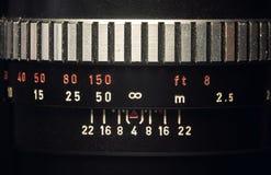 Old Vintage Manual Lens Royalty Free Stock Photos