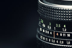 Old Vintage Manual Lens Royalty Free Stock Images