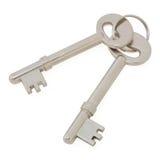 Old vintage metal key Royalty Free Stock Photos
