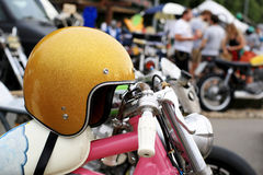 Old vintage motorcycle Royalty Free Stock Photography