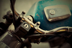 Old vintage motorcycle Royalty Free Stock Photo