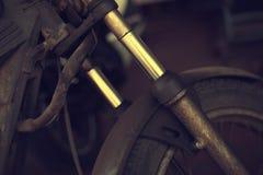 Old vintage motorcycle Royalty Free Stock Image