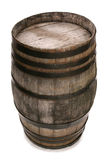 Old vintage oak wine barrel Royalty Free Stock Photo