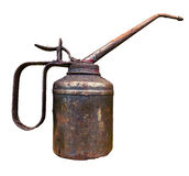 Old Vintage Oil Can Royalty Free Stock Images
