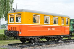 Old railway car royalty free stock images