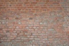 Old vintage orange red brick street rusty grunge Stock Images