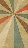 Old vintage paper. Vintage paper with sunburst pattern Royalty Free Stock Images