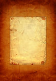 Old vintage paper with grunge frames Royalty Free Stock Images