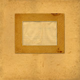 Old vintage paper with grunge frames Royalty Free Stock Photo