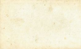 Old Vintage Paper Texture Royalty Free Stock Photo