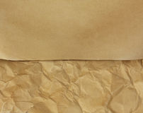 Old vintage paper texture for text or design Royalty Free Stock Images