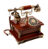 Old vintage phone Stock Photos