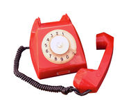 Old vintage phone Stock Image