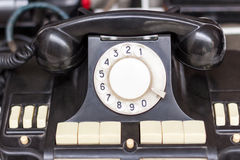 Old vintage phone Royalty Free Stock Image