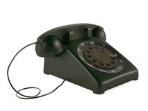 Old vintage phone. See my other works in portfolio Royalty Free Stock Photo
