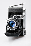 Old vintage photo camera Stock Photos