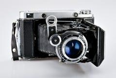 Old vintage photo camera Stock Photography