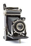 Old Vintage Photo Camera Stock Photo