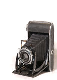 Old vintage photo camera Stock Images