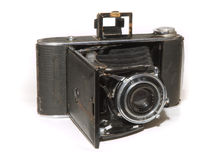 Old vintage photo camera Royalty Free Stock Image