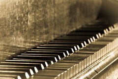 Old vintage piano Royalty Free Stock Photos