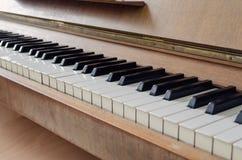 Old vintage piano keyboard. Art Royalty Free Stock Image