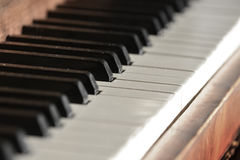 Old Vintage Piano with Keys for Music Royalty Free Stock Photos