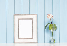 Old vintage picture frame Stock Photo