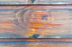 Old vintage planked wood Royalty Free Stock Photo
