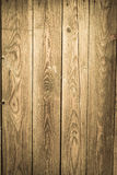 Old vintage planked wood table royalty free stock image