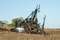 A old vintage plough stock photo