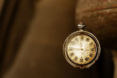 Old vintage pocket watches Stock Photo