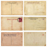 Old Vintage Postcards royalty free stock photos