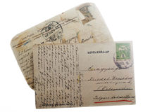 Old Vintage Postcards Royalty Free Stock Image