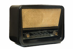 Old vintage radio Stock Image
